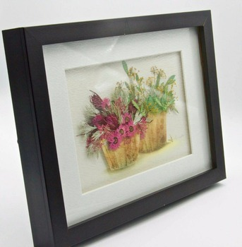 Garden Pressed Flower Stand Up Frame Black For Home Decor Buy