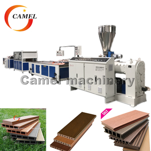 Wpc decking extrusion machine/ wpc decking making machine/ WPC profile production line