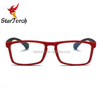 a9bccef56 Venda quente silicone ultraleve quadrados moda tr90 armações de óculos  esportivos ...