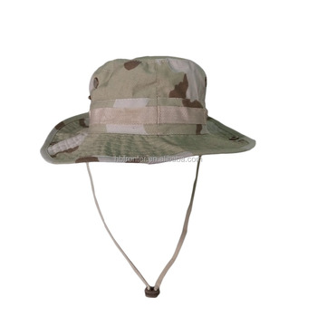 Wholesale Men Woodland Camo Custom Printed Army Tactical Bonnie Hat  Camouflage Military Fishing Bucket Hat 7c407d28dfac