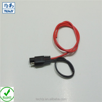 6mm2 Red Wire Black Sae Plug Trailer Wire For Power Connection Wire