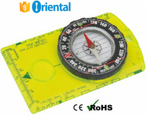 Low Price Green Compass #361,Free Sample Map Compass Plastic,Compass Paper Packaging Box Mountain Bike Tool