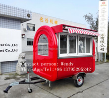 shanghai mobile food trailer used cars for sale, 3 wheel vending units cart type bbq grills, catering van mobile catering food