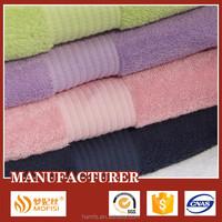 Wholesale bulk 100% cotton terry bath towel stock lot