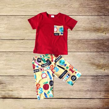 a0565077ff1 2018 hot sale chinese clothing manufacturers school boy set baby boys  clothes