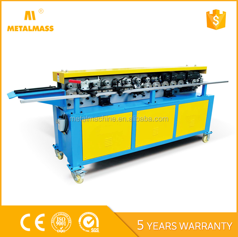 HVAC duct tdf flange forming machine , square duct production TDF folding and making machine