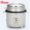 1.8L white joint body tinplate out shell automatic keep warm function straight rice cooker