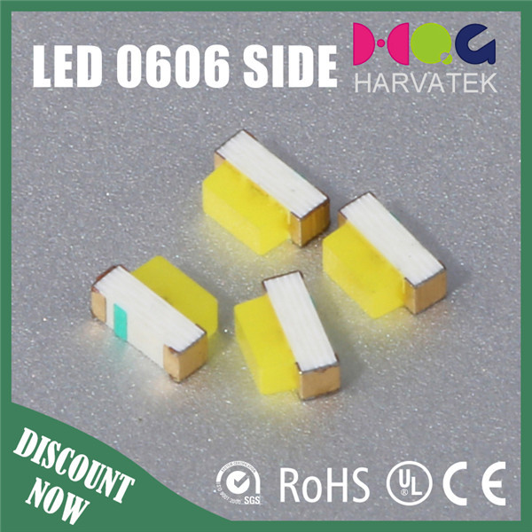 0603 Side View Ultra Bright Standard White 5mA epistar LED SMD