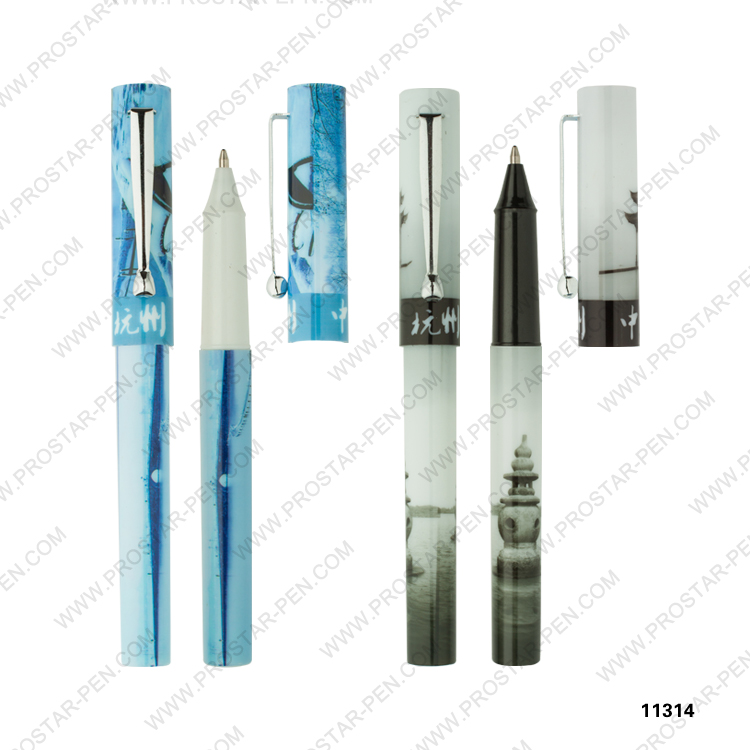 souvenir pen in different display box, PVC box,paper box packing