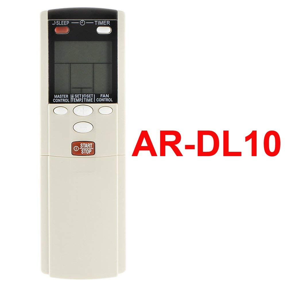 YING RAY Replacement for Fujitsu Air Conditioner Remote Control Model (Part) Number AR-DL10 (Display in Ceielus ONLY)