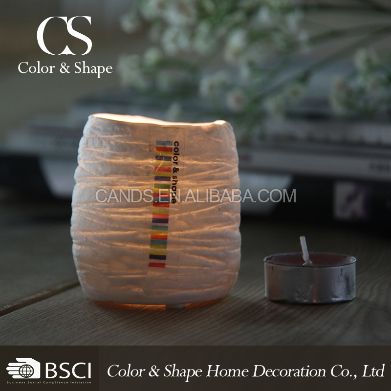Custom factory price promotional gifts ceramic candle holder