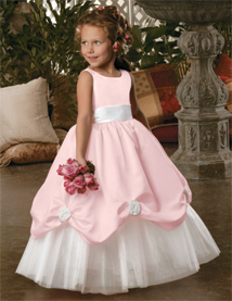 Two Color Flower Girl Dress With Low Price Lace Or Flower Girl ...