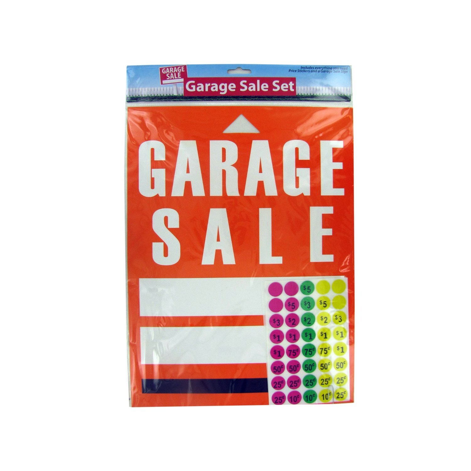 class garage saras sale stickers pin and girl first girly