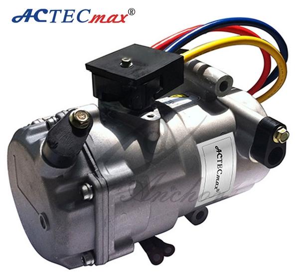 12 V Dc Compresor Del Aire Acondicionado Para Coches Por
