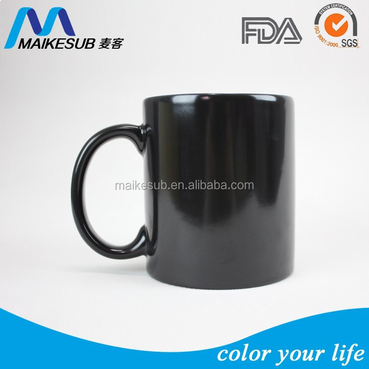 11OZ Glossy finish Full Color changing magic mug for sublimation printing