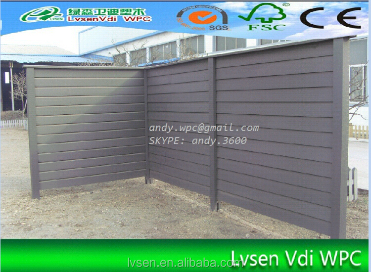 2015 TOP QUALITY WPC FENCE OUTDOOR FENCING WALL PANEL