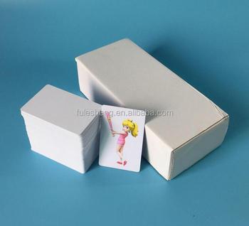 Inkjet Printable PVC Card Business Printing With Canon Epson Printer