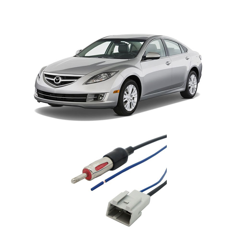 Protege 5 AntennaMastsRus 6 8 Screw-On Antenna is Compatible with Mazda 3 5