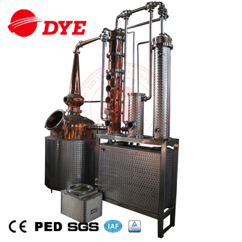 Vacuum Distillation Copper Whisky Making Machine Gin Still For Sale - Buy  Distillery Alcohol,Alcohol Production Equipment,Liquor Making Machine