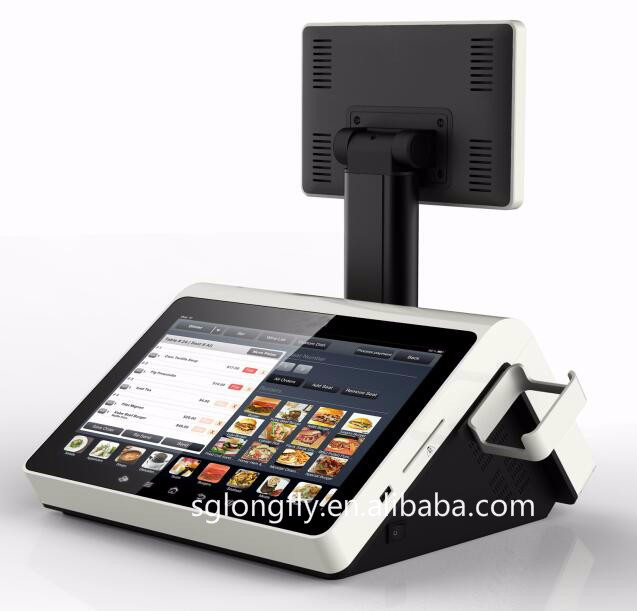 All in one POS Solution/ ANDROID/WINDOWS POS with 80mm thermal printer