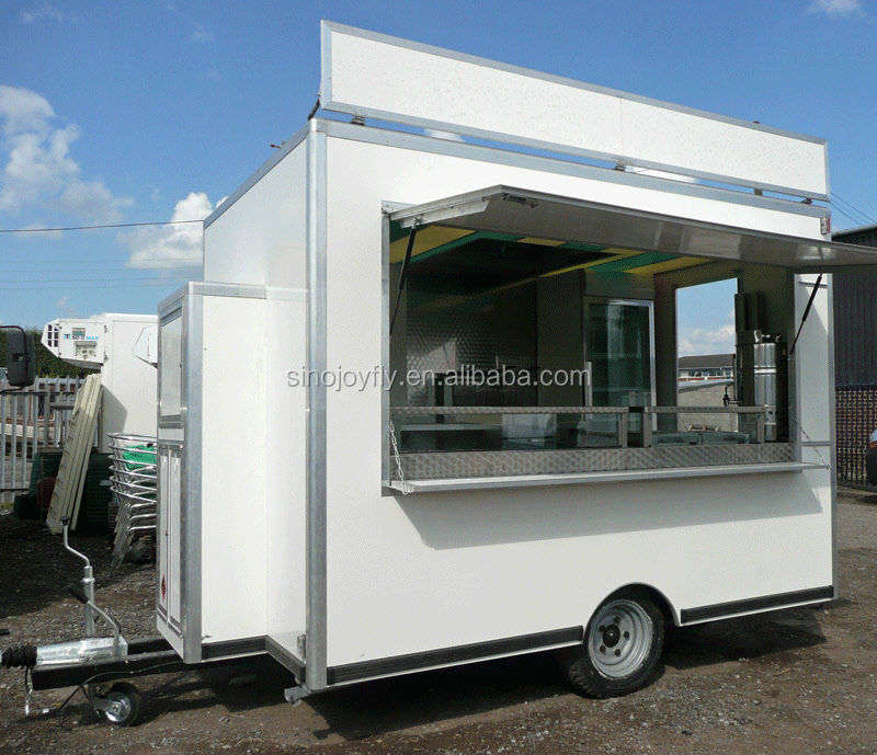 Fast Food Mobile Kitchen Trailer/hot-selling Indoor Mobile