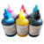 Excellent Quality printer ink refillable black pigment ink for ciss ink system