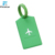 Rectangle Standard Size Pvc Plastic Luggage Tag