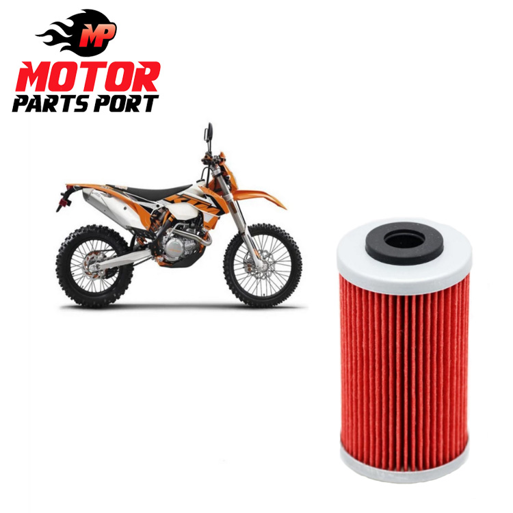 High Flow Motorcycle Oil Filter For KTM EXC 450 500 2012~2016