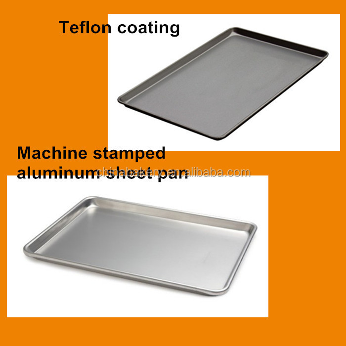 Aluminum Sheet Pan Baking Tray For Microwave Convection Oven Cookies
