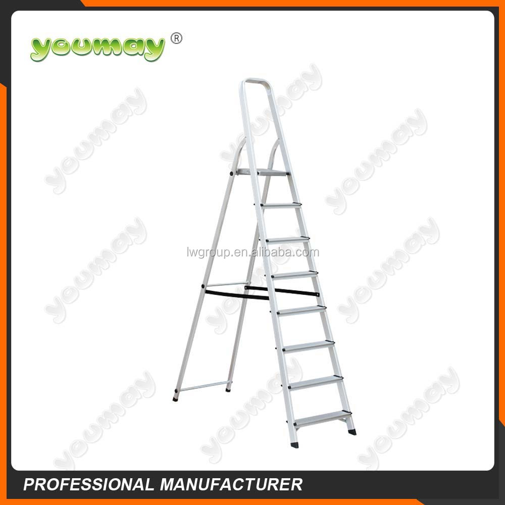EN131 Approved Aluminum Step ladder, domestic shoe AF0308A