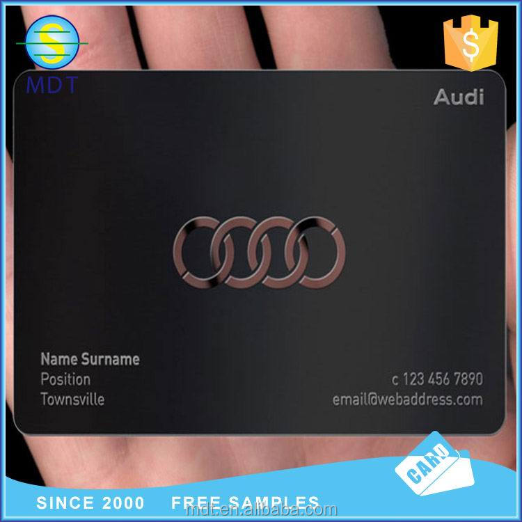 Audi Luxury Business Card Metal Card High Class - Buy Audi Metal ...