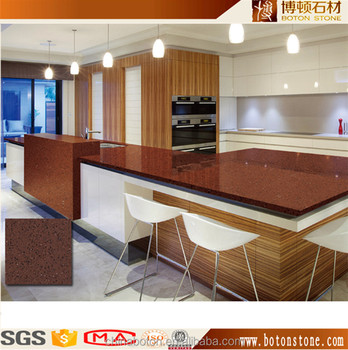 Polished Solid Surface Chinese Man Made Artificial Granite Countertops