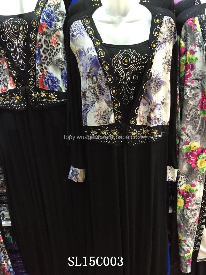 Wholesale hijab islamic clothing dubai abaya stone work online ...