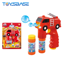 2018 Nieuwe Producten Mini Fire Engine Vorm <span class=keywords><strong>Bubble</strong></span> Guns Voor Kids