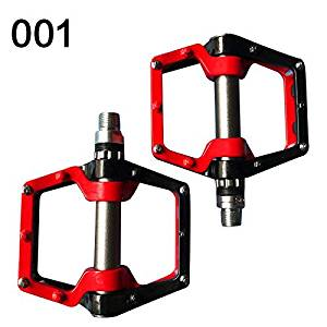 Costelo Mountain Bike Pedals MTB Road Cycling Sealed Bearing Pedals BMX Ultra-Light Bicycle Pedals, 3 Colors