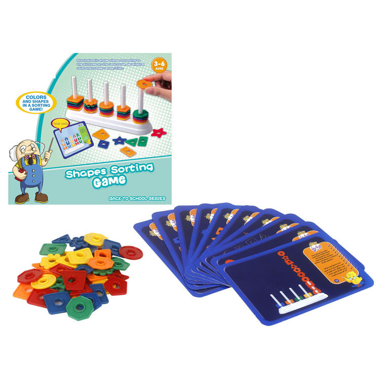 Intelligent Educational Toys Color Shape Sorting Game