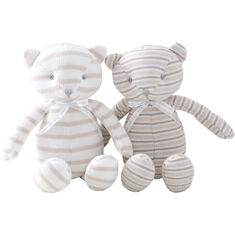 High quality comfort appease bite animal plush toy elephant bear infant baby sleeping soft toy <strong>rabbit</strong>