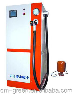 Air compressor cooling charging unit A/C Service Station equipment