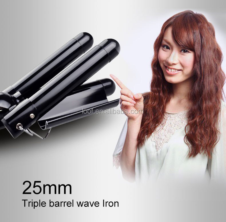 hair curler plastic hair wand curler ceramic tourmaline curling iron hair curler 2019