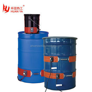 5/15/30 or 55 Gallon Heavy Duty Silicone Rubber Drum Heaters and Pail Heaters