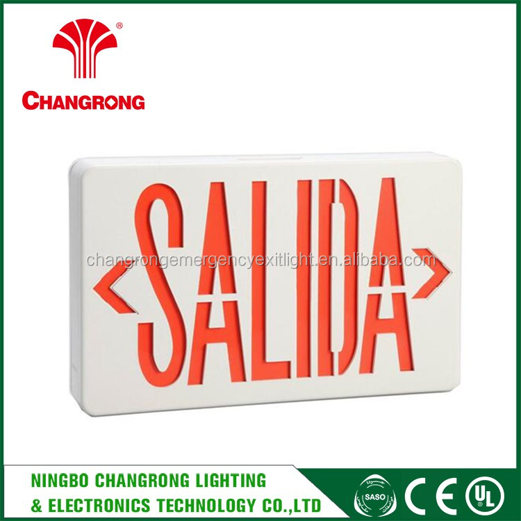 Factory Price Led Emergency Exit Sign Light