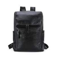 Wholesale Custom Traveling Waterproof Leather Casual Men laptop Backpack Daypack