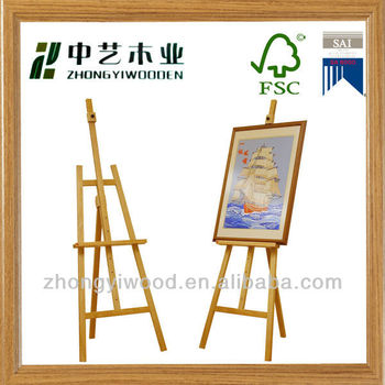 Any Size Zhongyi Wooden Canvas Easel Buy Canvas Easel Painting