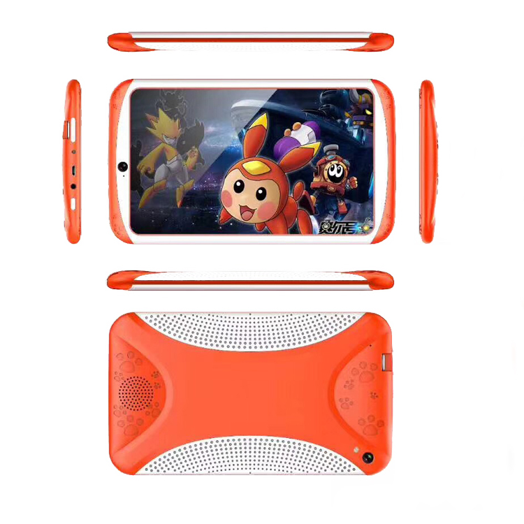 7inch A33 quad core android tablet PC kids/ kids cheap tablet PC/ 2017 new arrival kids tablet