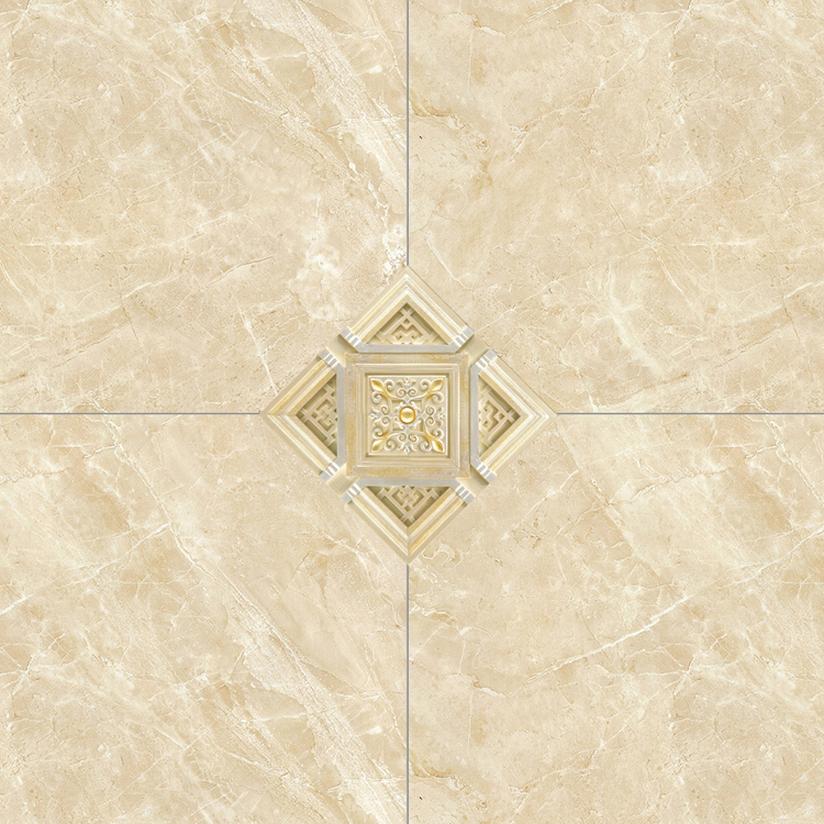 DJ009 Self Adhesive Waterproof 12*12cm Tile Intersect Sticker Spanish Floor Tile