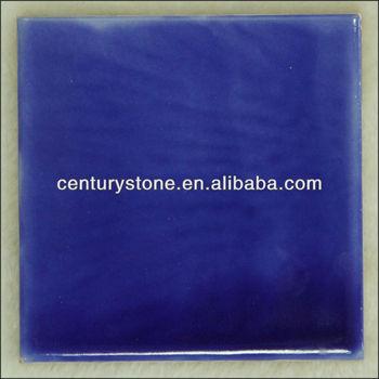 China Blue Color Ceramic Tile