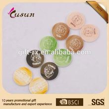 SGS Current mould Plastic game Token Coin With Printing Logo