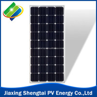 100W 18v Solar Panel monocrystalline popular sale solar pv module made in china