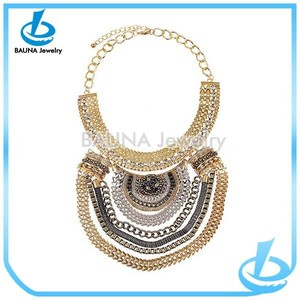 Yiwu fake custom gold moroccan jewelry