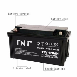 Professional 12v 120ah small rechargeable 12v battery for solar